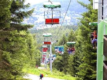 Silberberg Sesselbahn in Bodenmais