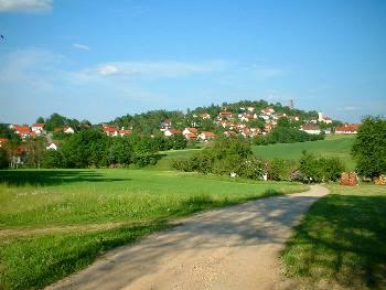 Ansicht v. Brennberg im Landkreis Regensburg