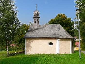 Kappelle am Ortsrand Richtung Frauenzell