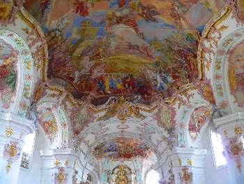 Kloster Frauenzell - Innen Ansicht