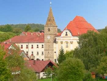 Ansicht Klosterkirche Frauenzell