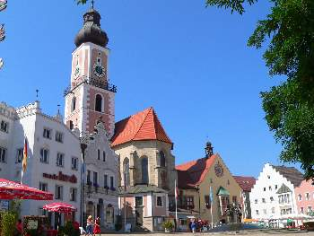 Marktplatz im Cham