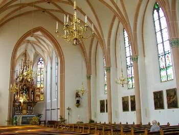 Kirche in Freyung - Innenansicht