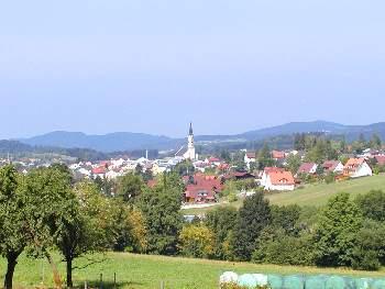Stadt Freyung mit Umland / Landschaft