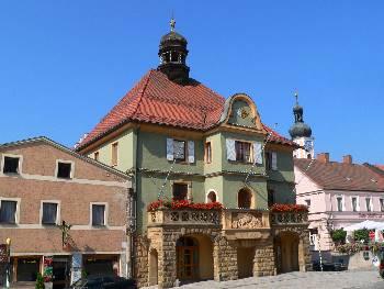 Furth im Wald Rathaus - Bilder von Further Sehenswürdigkeiten