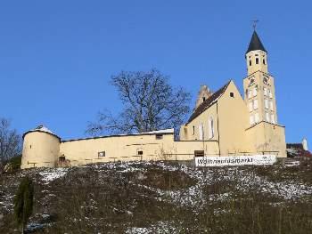 Riedenburg im Altmühltal an der Altmühl