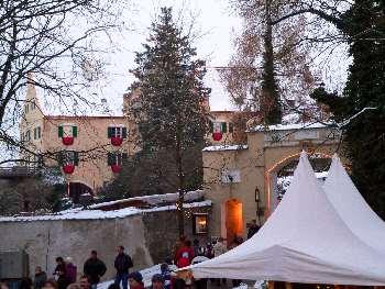 Weihnachtsmarkt Hexenagger.Romantischer Weihnachtsmarkt Hexenagger Christkindlmarkt Bayern