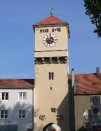 Turm und Tor in Kelheim
