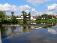Fluss Regen in Nittenau
