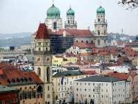 Stadtturm und Dom von Passau