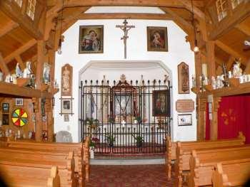 Philippsreut - Tusset Kapelle innen Ansicht