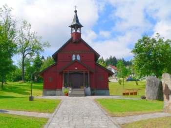 Tusset Kapelle am Ortseingang Philippsreuth