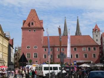 Haidplatz - Bilder und Fotos von Sehenswürdigkeiten und Ausflugszielen in der Altstadt von Regensburg