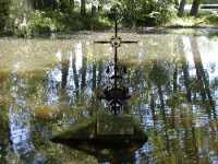 Fluss Kreuz am Esper