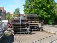 Schwandorf Wasserräder an der Naab