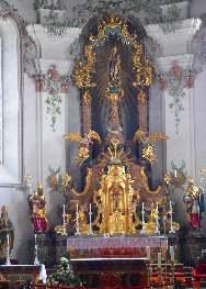 Viechtacher Kirchen Altar