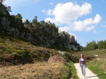Wandergebiet Grosser Pfahl bei Viechtach