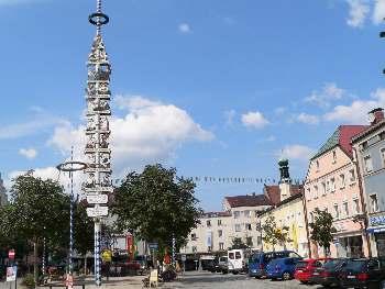 Stadtplatz in Viechtach