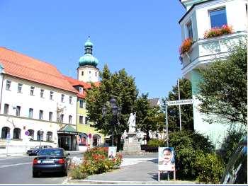 Stadtplatz von Waldmünchen