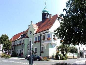 Waldmünchen Stadtplatz und Stadtverwaltung