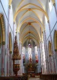 Kirche in Zwiesel - Innenansicht