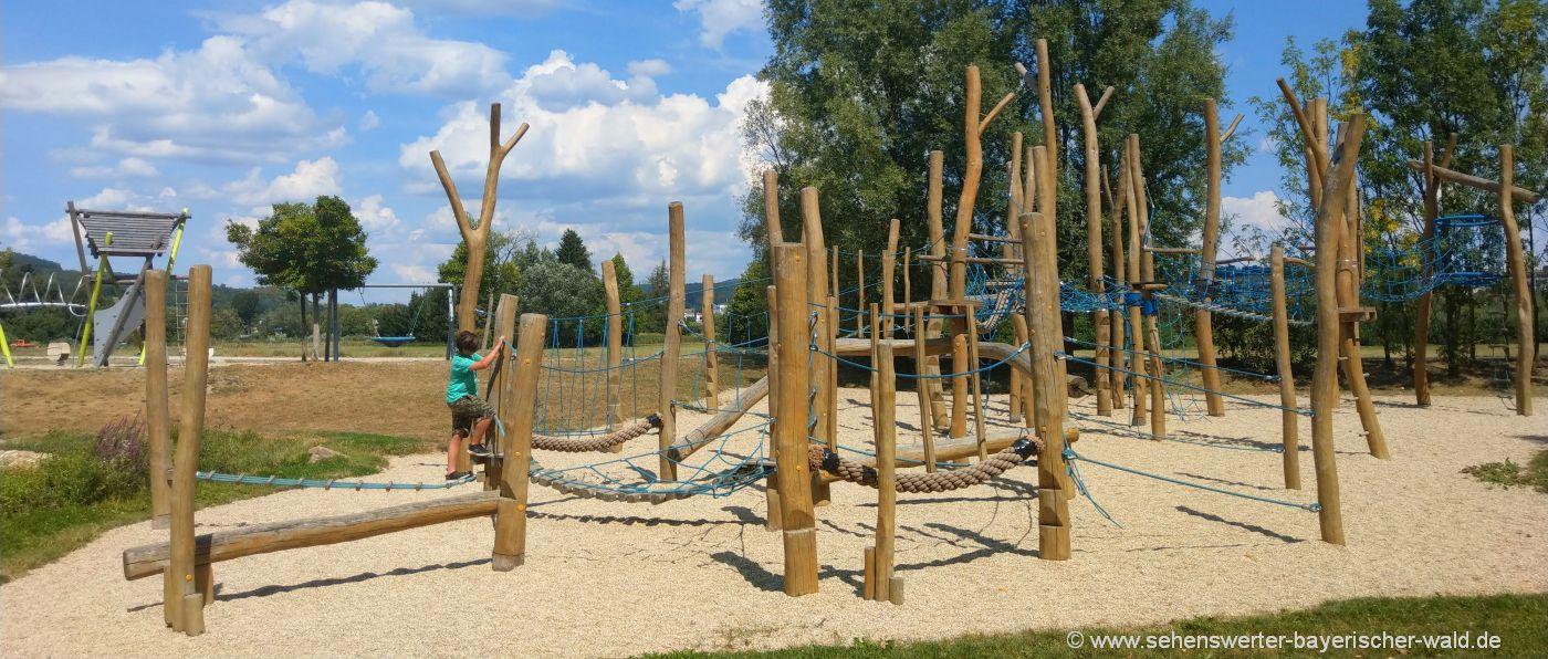 Spielplatz und Freizeitpark Quadfeldmühle Cham i.d. Oberpfalz