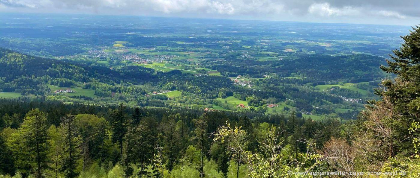 Achslach Vogelsang Wanderung Aussichtspunkt Regensburg Stein Niederbayern