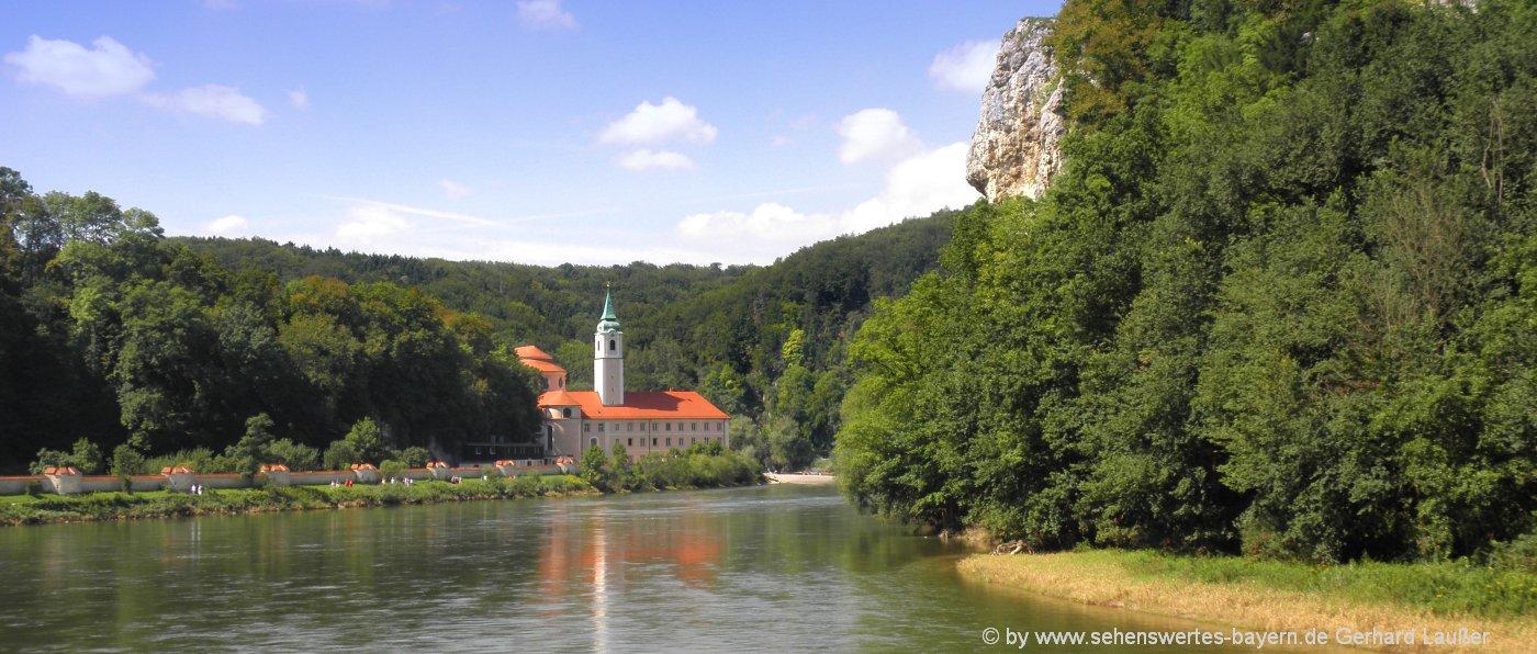 Besichtigung Kloster Weltenburg im Altmühltal Führung Klosterkirche