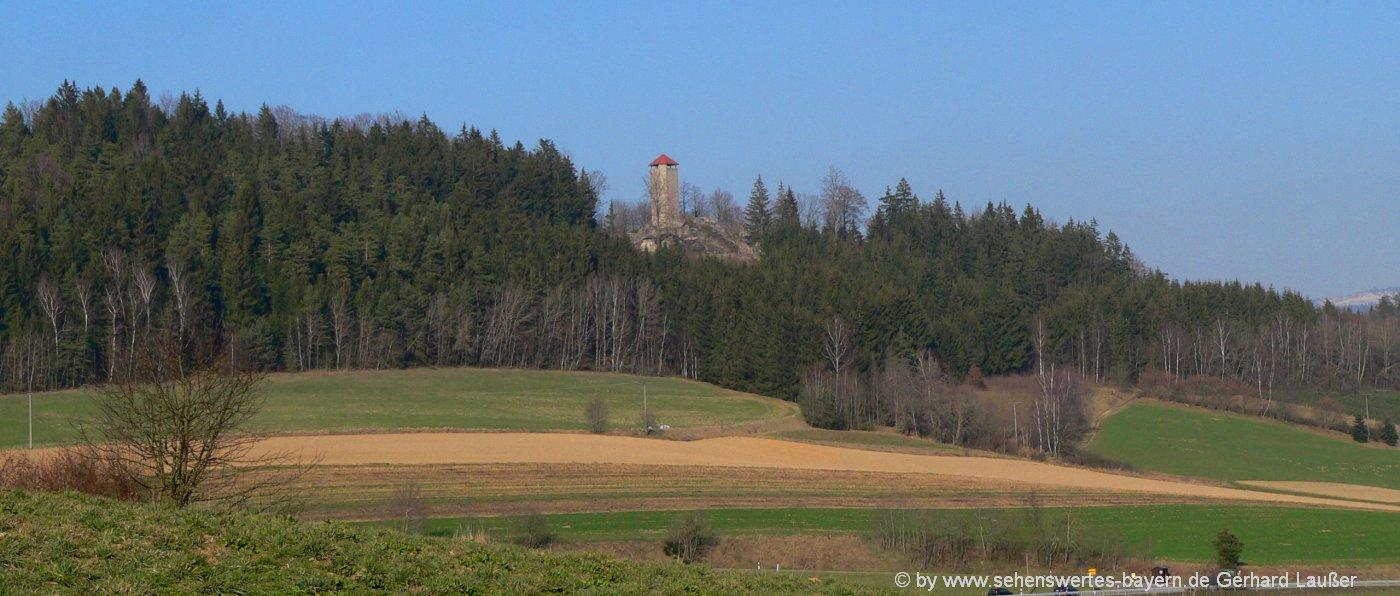 altnussberg-burgruine-geiersthal-bayerischer-wald-ausflugsziele