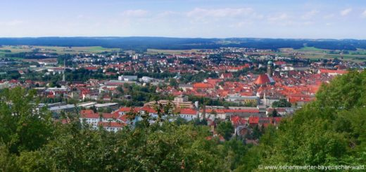 amberg-mariahilfberg-wanderwege-aussichtspunkt-stadt-kirche