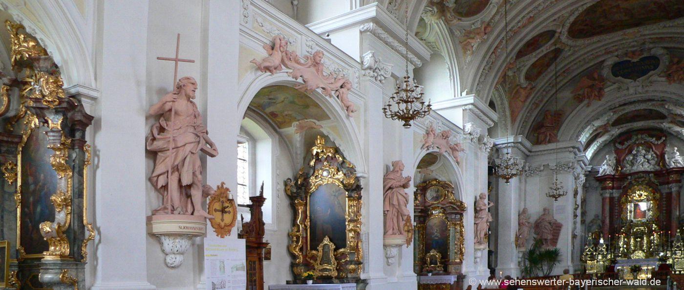 amberg-wallfahrtskirche-maria-hilf-kloster-altar-statuen