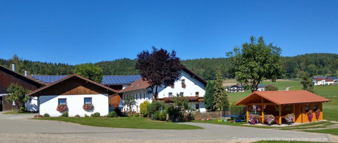 Urlaub auf dem Bauernhof in Zandt Ferienhaus im Landkreis Cham