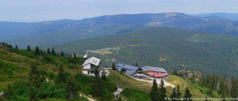 Ausflugsziele Bayerisch Eisenstein Berg Arber