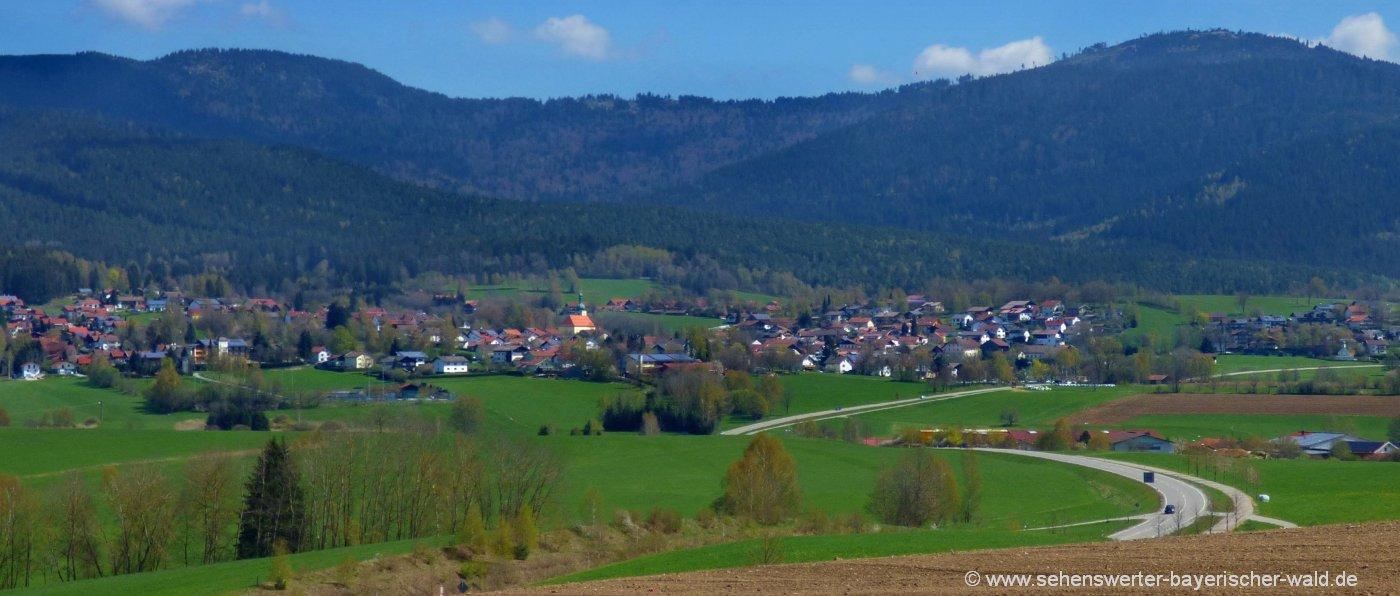 arnbruck-glasdorf-ausflugsziele-bayerischer-wald-zellertal-landschaft-berge