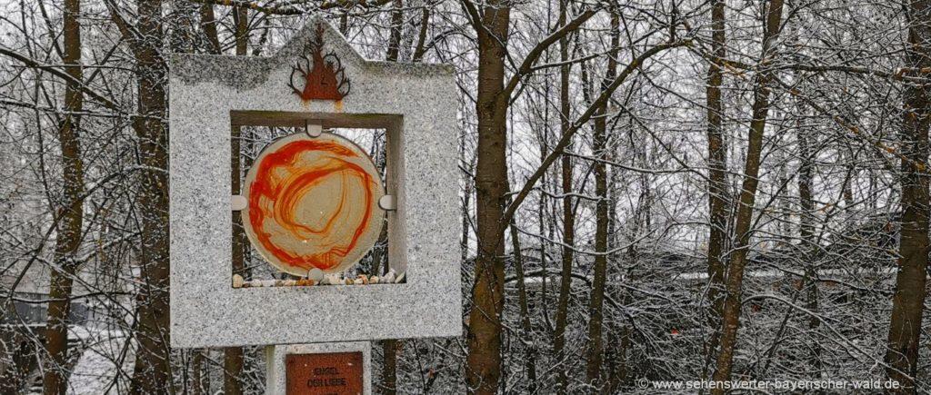 Wandern bei Waldmünchen im Landkreis Cham Meditation Engel der Liebe