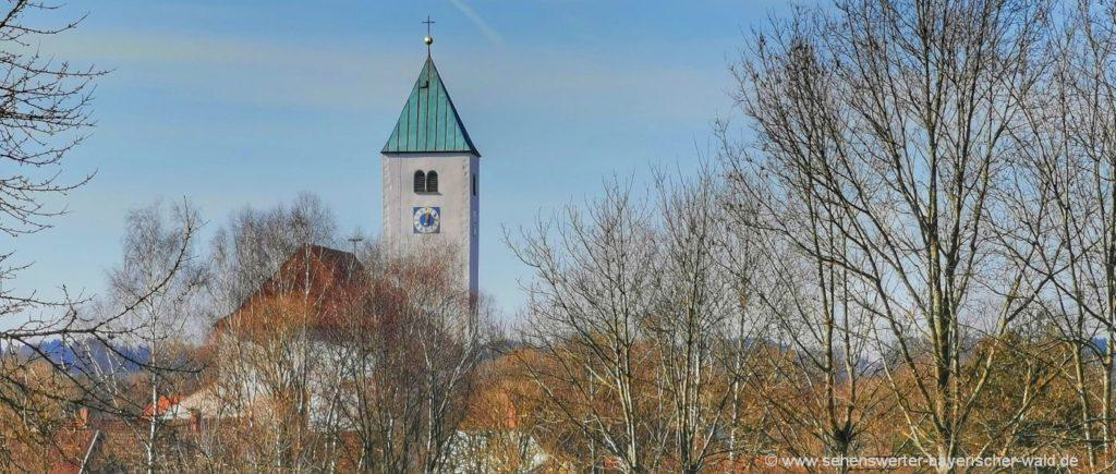 Pfarrkirche Mariä Himmelfahrt in Ast Wallfahrtskirche Waldmünchen