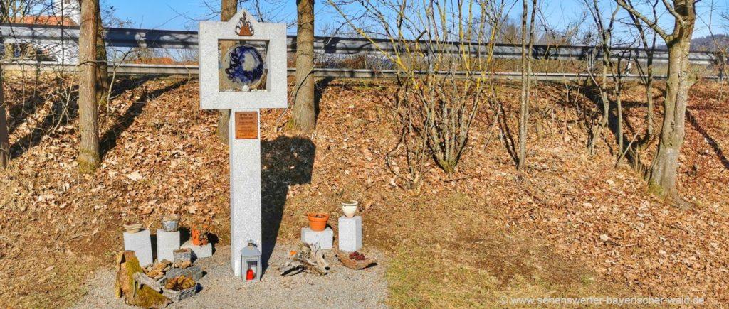 Waldmünchen Meditationsweg Ast Engelweg Rundweg mit vielen Stationen