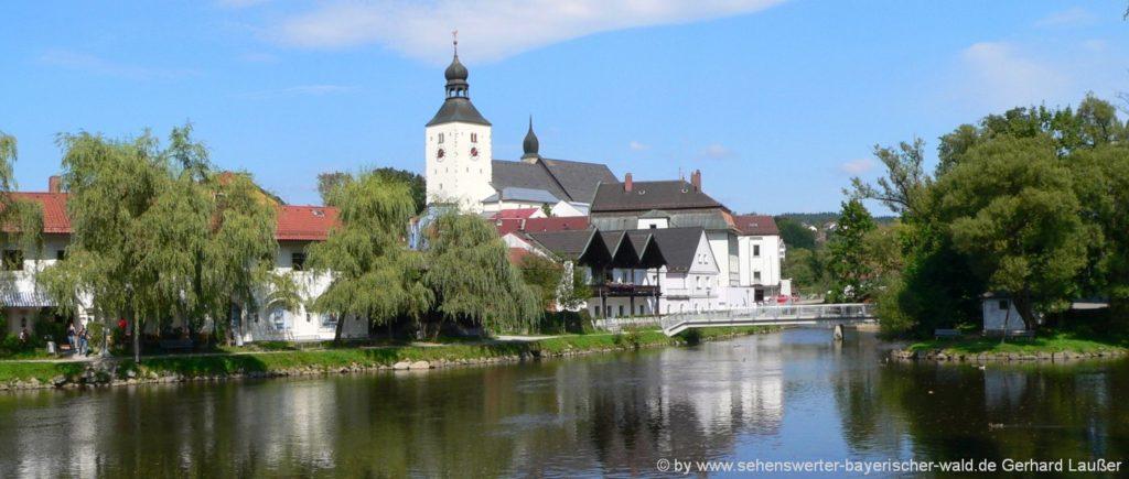 Stellplätze im Landkreis Regen in Niederbayern