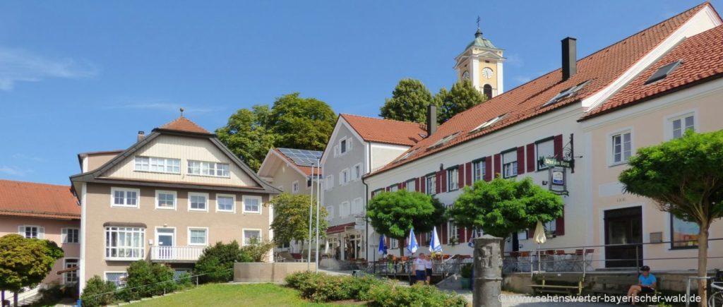 Sehenswerte Stadt und Ausflugsziele in Bad Birnbach und Umgebung