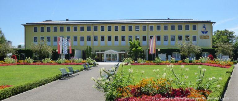Sehenswürdigkeiten in Bad Füssing Ausflugsziele in Niederbayern