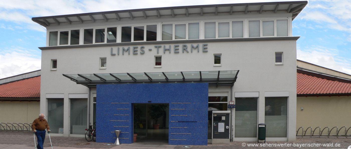 Ausflugszuele in Bad Gögging Sehenswürdigkeiten und Freizeitangebote Limes Therme