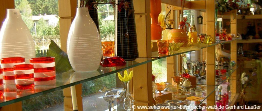 Glaskunst in Bayerisch Eisenstein Sehenswürdigkeiten und Freizeit Aktivitäten