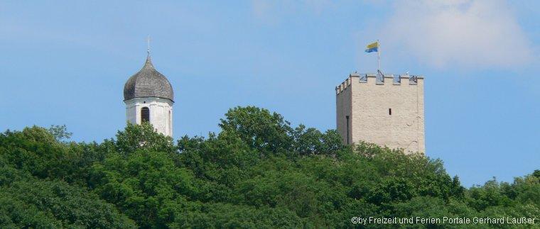 Alter Lokschuppen Falkenstein Burgturm