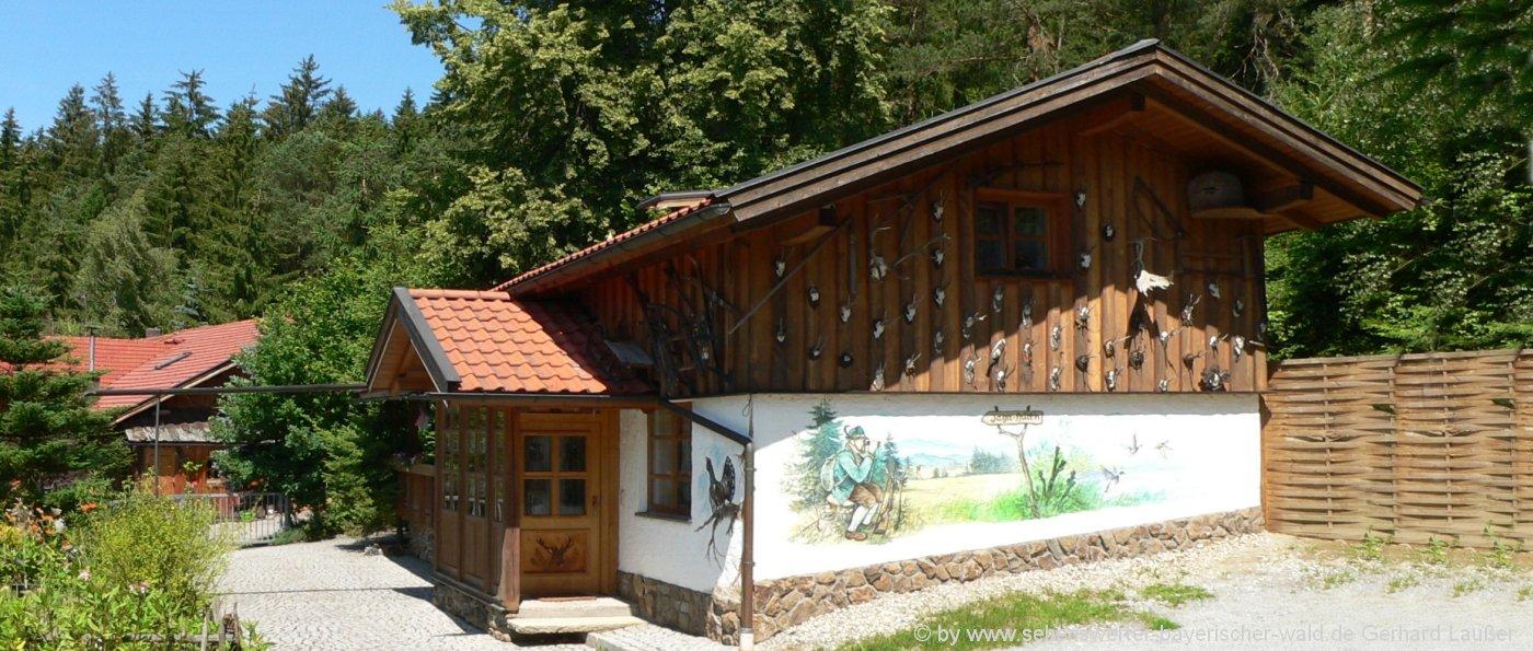 bayerischer-wald Hütten für Urlaub mit Hund Ferienhuette