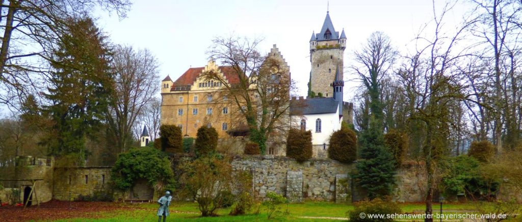 Sehenswürdigkeiten bei Deggendorf Schloss Egg in Niederbayern