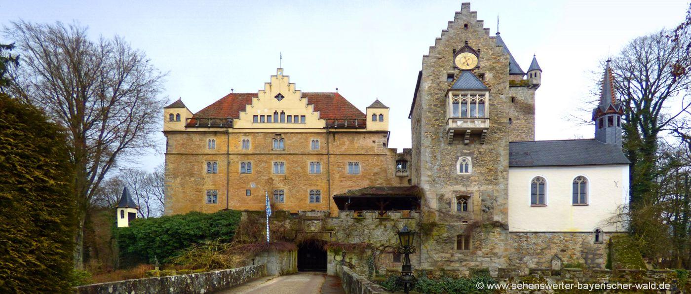 Führungen Schloss Egg in Bernried in Niederbayern