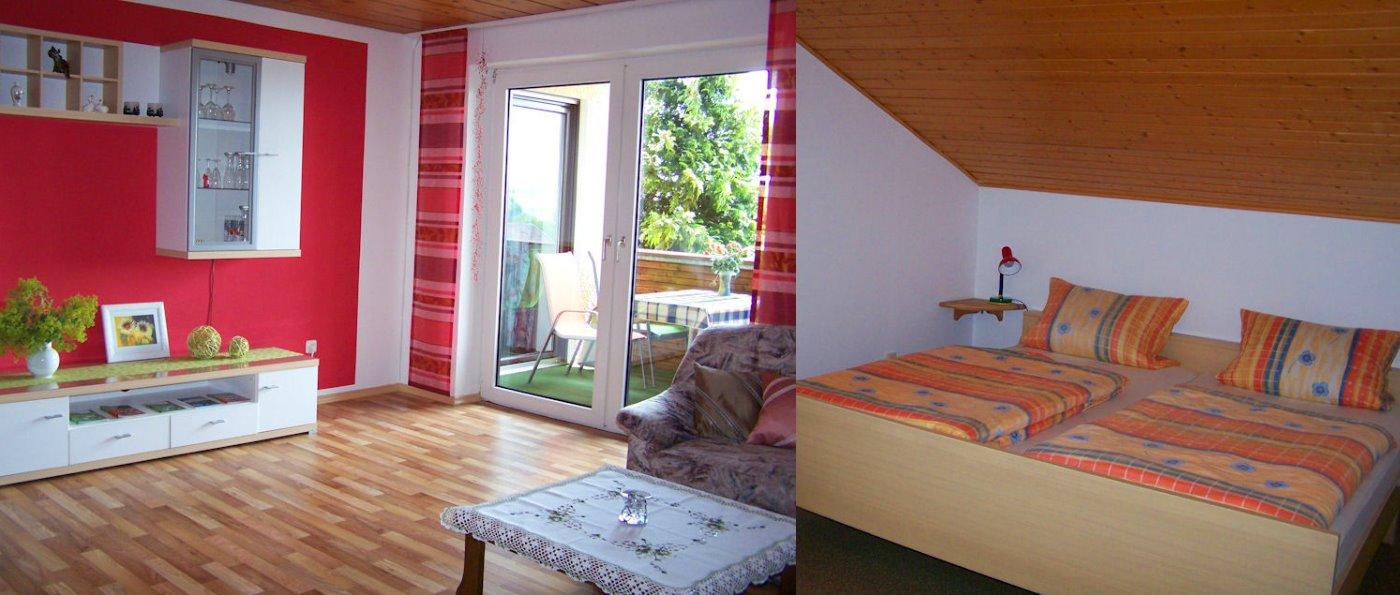 Ferienwohnung zum Wandern am Gibacht und Voithenberg