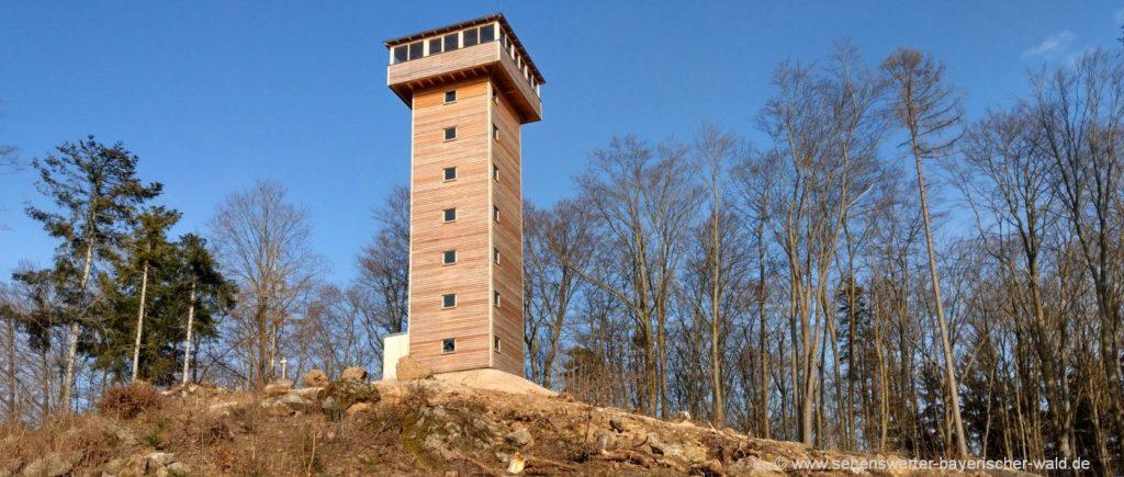 Aussichtsturm am Bleschenberg Ausflugsziel bei Schönthal