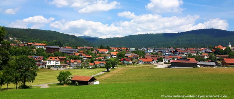 bodenmais-bayerischer-wald-ausflugsziele-unterkunft-ortsansicht