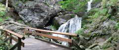 Rieslochwasserfälle bei Bodenmais lohnendes Ausflugsziel im Bayerischen Wald